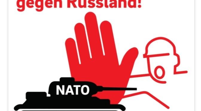 Kein Aufmarschgebiet gegen Russland!