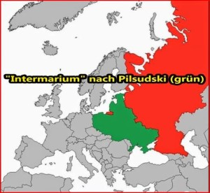 Pilsudski Intermarium USA bevorzugtes Konzept