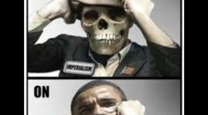 Kann der zum Friedensnobelpreisträger verklärte Kriegsverbrecher Obama bitte verhaftet werden?! – der penetriert zwecks 'Werbung' für TTIP nächste Woche nämlich BRD…